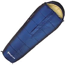 KingCamp Junior Boys chicas momia saco de dormir Camping Senderismo fiestas (azul)