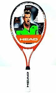 Head Radical 27 Tennis Racket - Orange, 2 Grip