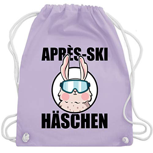 Häschen Kostüm Lila - Après Ski - Après-Ski Häschen - Unisize - Pastell Lila - WM110 - Turnbeutel & Gym Bag