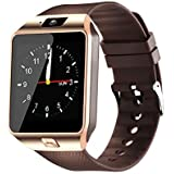 Smart Watches with Bluetooth 4G Sim Card Supported with Sports and Fitness Tracker and More Smart Watch for Boys and Mens (smartwatch) - Black