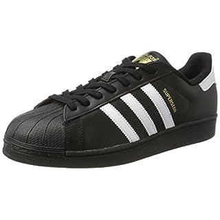 adidas Originals Superstar Foundation Herren Sneakers, B27140, Schwarz (Core Black/Ftwr White/Core Black), EU 42
