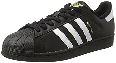 adidas Originals Superstar B27140, Unisex-Erwachsene Low-Top Sneaker, Schwarz (Core Black/Ftwr