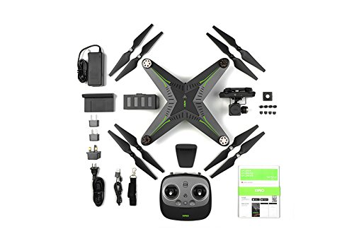 Xiro Xplorer Vision Drohne (Verfolgungsfunktion, Full HD Videos 1080p/30fps, 14 Mpx) - 2