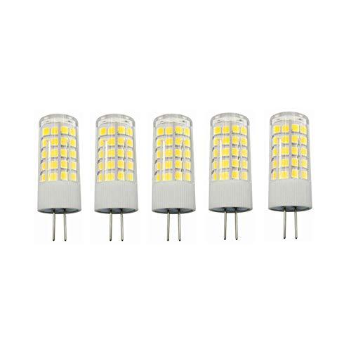 RZL LED Lights, Geführte Ersatzlampe der Birnen-12V Wechselstrom- / DC-G4-Basis-Befestigung 350LM zu 40Watt Halogen führte für Landschaftsbeleuchtung/Rv/unter Kabinett/vertiefte Lampe 5-pact (Rv-led-beleuchtung-befestigungen)
