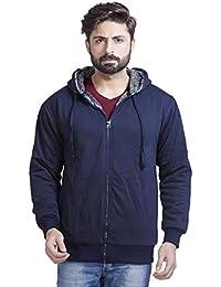 a8d701727c ADBUCKS Winter Wear Jacket Inside Full Black   White Fur   Made by Rich  Cotton Fabric