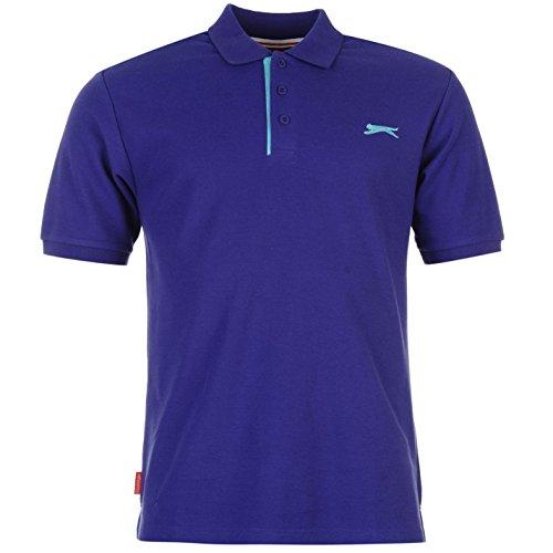 Slazenger Polo Polohemd T-Shirt Lila