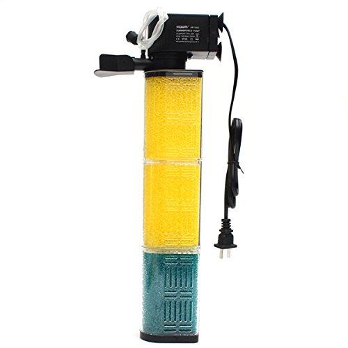 Tutoy 25W 1200L / H Unterwasser-Innenfilter Filtration Aquarium Fischbehälter Wasserpumpe (Katze Und Aquarium Kostüm)