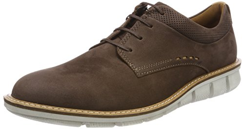 ECCO Jeremy, Scarpe Stringate Derby Uomo Marrone (Coffee)