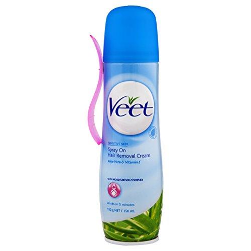 Veet Easy-Spray Haarentfernungs-Creme für...