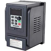 Inversor de variador de frecuencia, estable anti-impacto Entrada monofásica de 220 V Entrada trifásica de 380 V Salida de 1.5KW VFD Variador de frecuencia Variador Controlador de velocidad