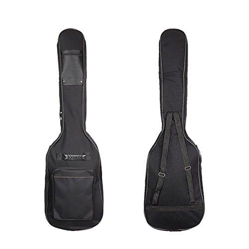 Kenthia doble correas guitarra bajo eléctrico bolsa