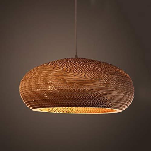 GWFVA Retro Honeycomb Künstlerische Persönlichkeit Pendelleuchte Schlafzimmer Bar Cafe Küche Restaurant Flur Leuchten Deckenleuchte Kronleuchter, E Large [Energieklasse A +++] - Honeycomb Seide