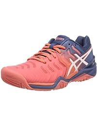 100% authentic 9442f 5e73b ASICS Gel-Resolution 7, Chaussures de Tennis Femme
