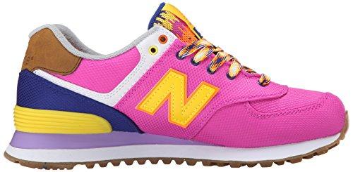 New Balance Wl574v1, Baskets Basses Femme Multicolore (Pink/Blue)