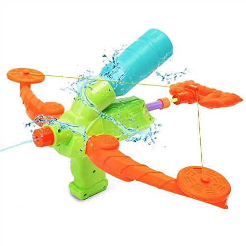 FUNTOK Wasserpistole Armbrust Water Pistol Wassergewehr Spritzpistole Strand Sommer Spielzeug für Kinder (Wasser Flasche Pfeil)
