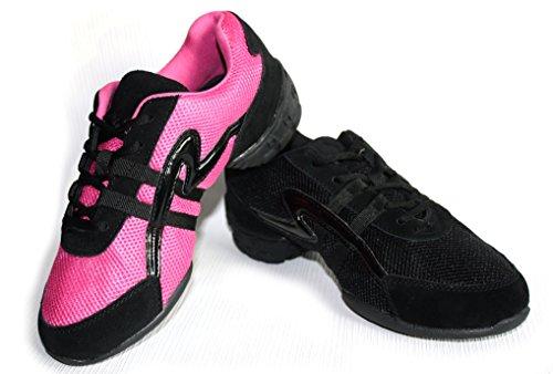 AS Fashion Dance Sneaker Tanzsneaker Tanzschuh (38, pink)