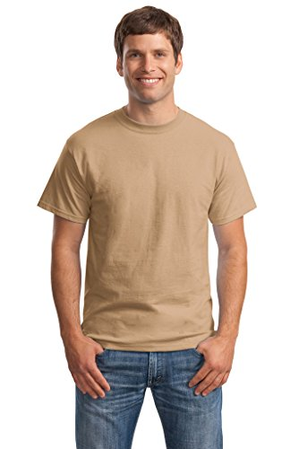 Hanes Big Mens Born to Be Worn 100% Cotton T-Shirt Pebble
