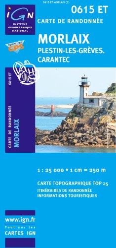 Morlaix/Plestin-les-Greves/Carantec GPS: IGN.0615ET