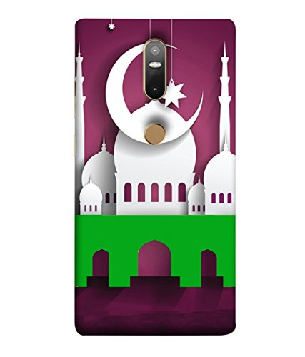 FUSON Designer Back Case Cover for Lenovo Fab2 Plus (Muslim festival masjid...