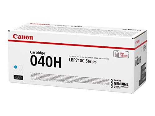 Canon 040H C Cartucho de toner original Cian para Impresora Laser Isensys