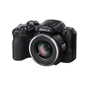 Fujifilm FinePix S8600 Fotocamera Digitale, 16 Megapixel, Sensore CCD, Stabilizzatore Ottico OIS, Nero