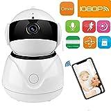 KOBWA WiFi-IP-Kamera, 1080P HD Dome 360 \u20b\u20b° Wireless WiFi-Babyphone-Sicherheit Home Security Überwachung IP-Cloud-Cam-Nachtsicht-Kamera für Android-Apps für Baby-Haustiere