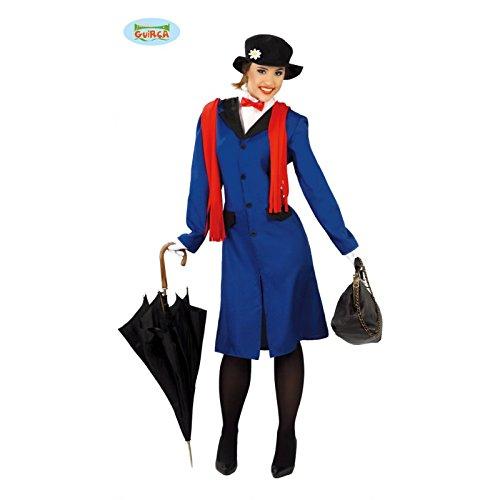 fliegendes Kindermädchen - Kostüm für Damen Gr. M/L, (Hut Poppins Kostüm Mary)