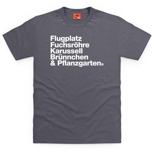 PistonHeads Corners 1 T-Shirt, Herren Anthrazit