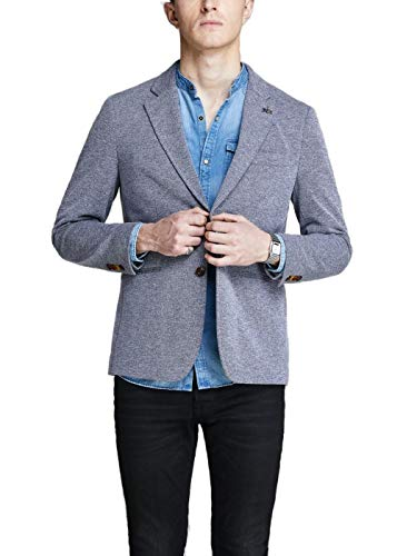 JACK & JONES PREMIUM Herren Jprsimon Noos Blazer, Blau (Chambray Blue Slim Fit), 52