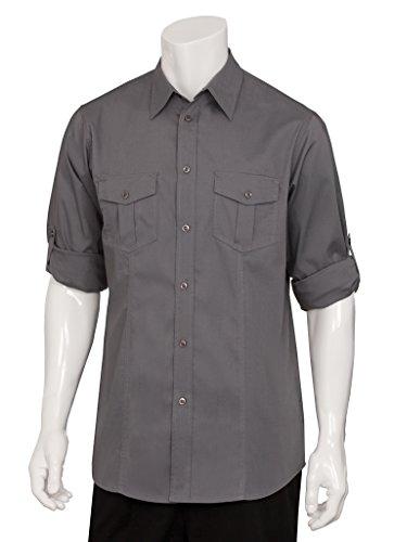 Lavoro da Uomo Pilota Uniforme Funziona Uomo Uomo Outfit Top Maglia donna nuovo, plastica, Grey, m - Spandex Uniform