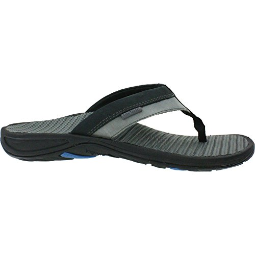 VIONIC Orthaheel Technology Men's Joel Black/Charcoal Sandal 9 D - Medium (Orthaheel Laufschuhe)