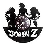Disque Vinyle Horloge vintage cadeau fait à la main Instant Karma Manga–Dragonball GT Z Super