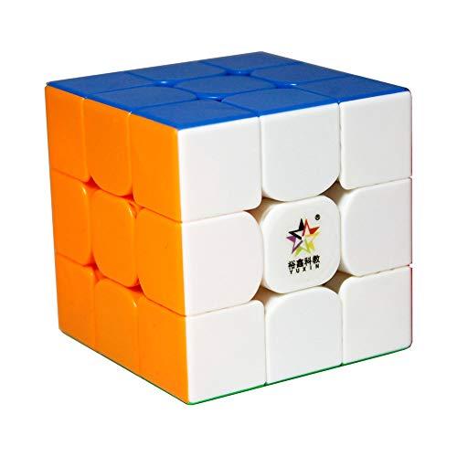 Gobus Yuxin Little Magic 3x3x3 Cubo Magico 55mm Speed Cube Agevolmente Torsione Puzzle Cubo Cervello Giocattolo Allenamento Stickerless