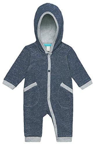 ESPRIT Kids Baby-Unisex Strampler RL5507002, Blau (Indigo 460), 56