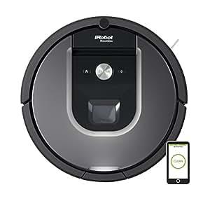 iRobot Roomba 960 Staubsaug-Roboter (systematische Navigation, App) silber