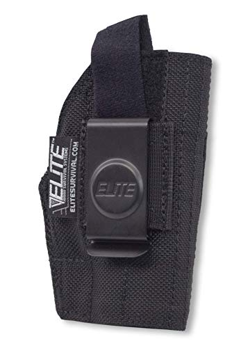 Elite Survival Systems Innen die Hose Clip Holster, Unisex, Inside The Pant, Schwarz, 34 -