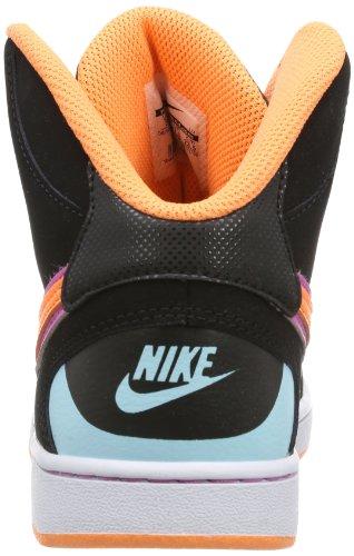 Nike - Son Of Force Mid, Sneaker a collo alto Unisex – Bambini Nero (Schwarz (Black/Atomic Orange-Vlt Ic-Glcr Ic))
