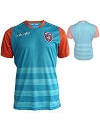 Macron Miami FC Home Fútbol Jersey M17 Jugador de fútbol Fan Camiseta blaugrün Naranja fussba llshirt