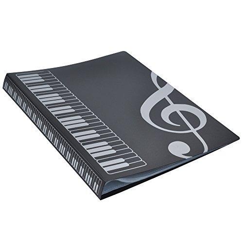 atei Papier Stauraum Ordner Dokumente Halter blanko Dateien Kunststoff-A440Taschen schwarz (Kunststoff-weihnachten-taschen)