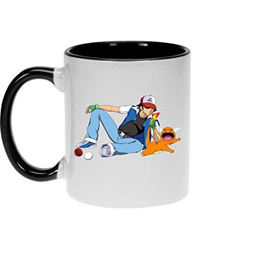 Okiwoki Mugs Pokémon parodique Salamèche Sasha : Un briquet bien pratique : (Parodie Pokémon)