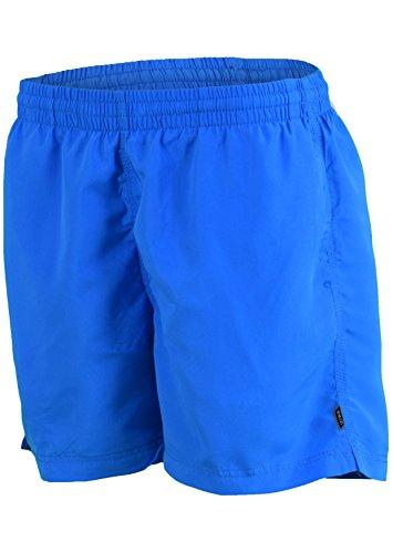 Herren Männer Badeshorts Bermudashorts Badehose trendige Farben Größen S-4XL wählbar f5368 Farbe: 1101(tue) MALIBU BLU - HELLBLAU/TÜRKIS, Gr. L (Blu-neckholder)