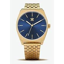 78dcbb46ef517 Adidas Reloj Analógico para Hombre de Cuarzo con Correa en Acero Inoxidable  Z02-2913-