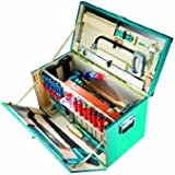 Caja de madera maciza para herramientas