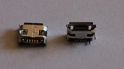 Conector Micro USB, hembra, 5 polos MC6, PCB, SMD (2 unidades)