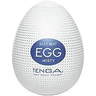Tenga Egg Misty Masturbator, White, One Size