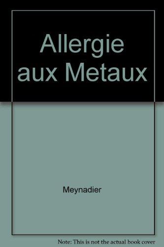 Allergie aux Metaux