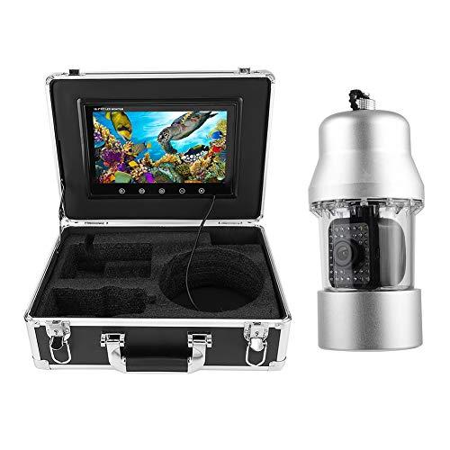 Professioneller Fischfinder, 10 Zoll HD 360 ° drehbare Unterwasservideokamera, IP68 wasserdichte Angelkamera, 38 LED 164 Fuß Kabel(EU)