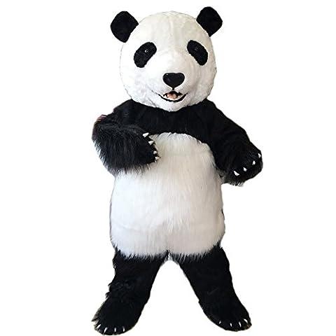 Panda kostüm Unisex erwachsene größe Lust party - kleid