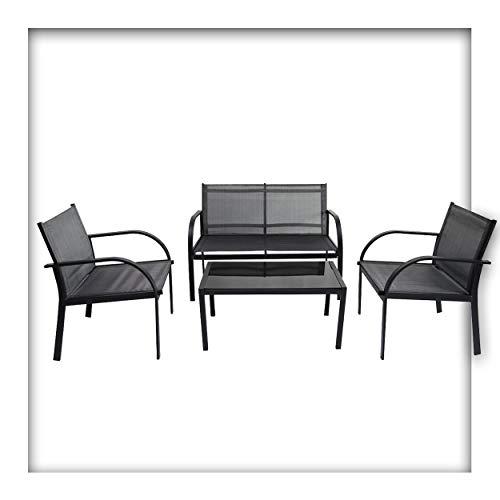 Jürgen Westerholt GmbH Lounge Set Ibiza Sitzgruppe für 4 Personen Gartenmöbel-Set Terrassenmöbel