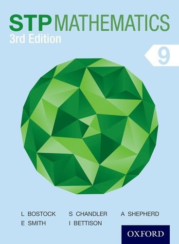 STP Mathematics 9 Student Book (Stp Mathematics 3rd Edition) por Sue Chandler